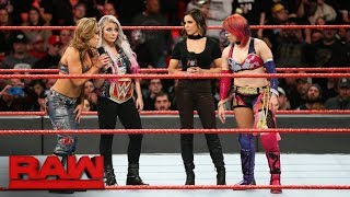"Alexa Bliss ""applauds"" Asuka's WrestleMania decision: Raw, March 12, 2018"