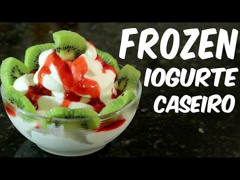 Como fazer um delicioso frozen iogurte caseiro - receita