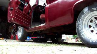 1963 Chevy C10 Pickup 350 Engine 10.5:1 Compression Approx