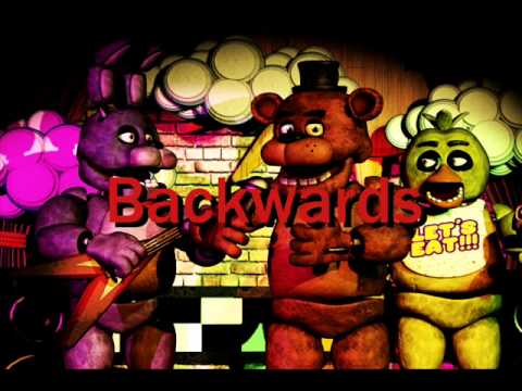 Five Nights at Freddy's: Fifth night backwards message
