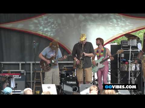 "Lucid Performs ""Miss Maybelle"" into ""The Russian"" at Gathering of the Vibes Music Festival 2012"