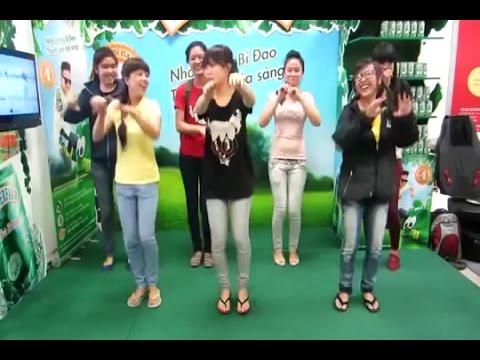 Quảng cáo trà bí đao - Nhảy cùng bí đao cực vui nhộn
