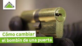 Cómo cambiar el bombín de una puerta