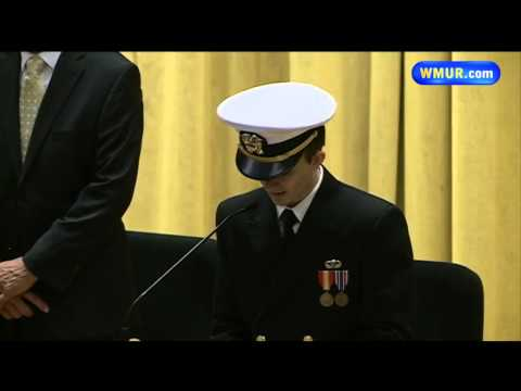 Nuclear sub destroyed in arson deactivated during ceremony