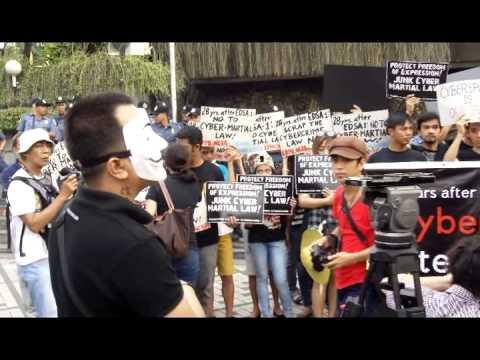 cyber libel protest edsa
