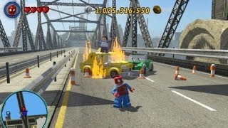 LEGO Marvel Super Heroes Residential Area 100% (All