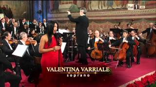 Anggun - Malam Kudus (Silent Night) at San Francesco Concerto di Natale ad Assisi