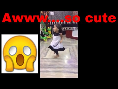 cute Indian girl dance on Aaja Mahi song ||  मस्त भारतीय नृत्य || cute little girl