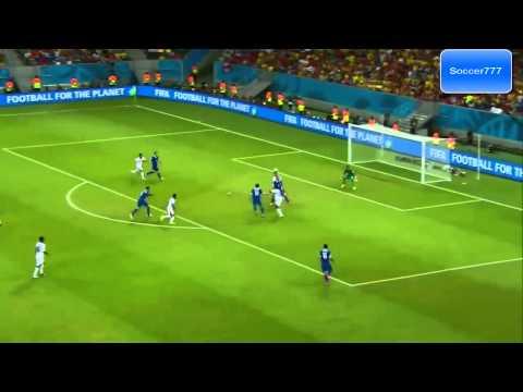 Costa Rica Greece 1 1 === all goals === 2014 world Cup === HD