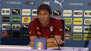 """Conte: """"Sarò contento se diventeremo una bella Italia"""" - 1 Settembre 2014"""