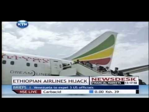 Ethiopian Airlines co-pilot hijacks plane