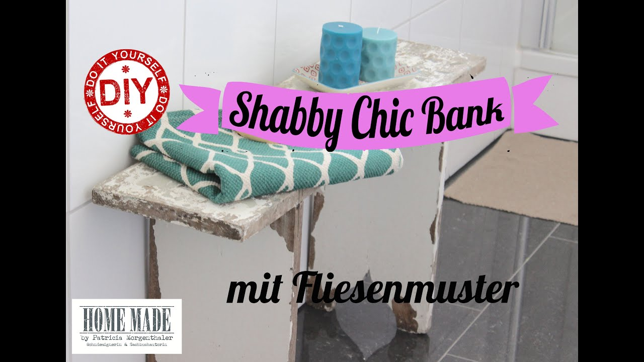 diy shabby chic bank aufpimpen fototransfertechnik youtube. Black Bedroom Furniture Sets. Home Design Ideas