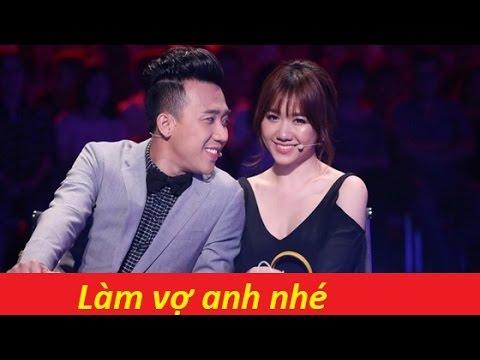 #Trấn Thành cầu hôn Hari Won trên sóng truyền hình xóa tan tin đồn tan vỡ