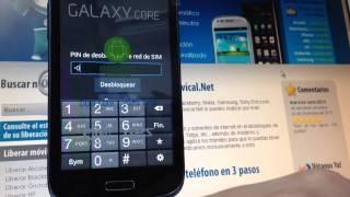 Liberar Samsung Galaxy Core, Móvil I8260 Vía Imei Code