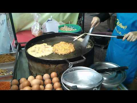 Asian Street Food  (Bangkok, Thailand)  Fast Asian Cooking