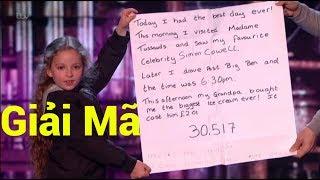 [TPS] - Giải mã ảo thuật TIÊN TRI của Issy Simpson tại Britain's Got Talent 2017