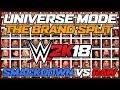 WWE 2k18 Universe Mode The Brand Split The Draft