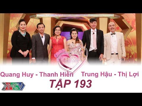 VỢ CHỒNG SON | Tập 193 FULL | Quang Huy - Thanh Hiền | Trung Hậu - Thị Lợi | 300417