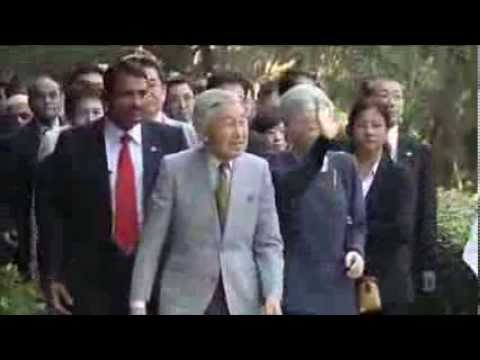 Japanese Royals Visit Historical Garden In New Delhi