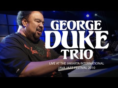 "George Duke Trio ""It's On"" Live at Java Jazz Festival 2010"