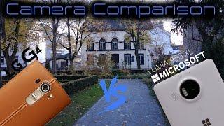 مقارنة بين كاميرا LG G4 و Lumia 950 XL