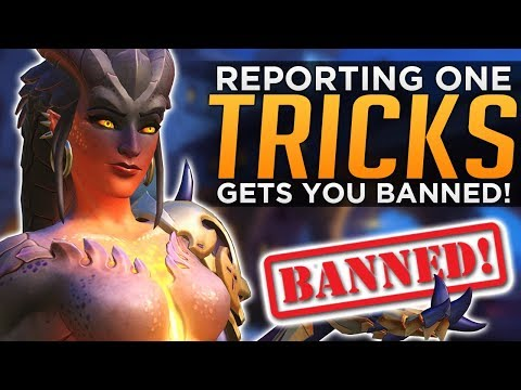 Overwatch: Reporting One Tricks Gets You BANNED!