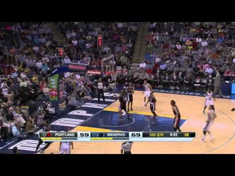 Portland Trail Blazers vs Memphis Grizzlies | March 11, 2014 | NBA 2013-14 Season