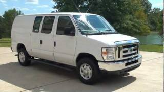 2010 FORD ECONOLINE E250 CARGO VAN FOR SALE SEE WWW SUNSETMILAN COM videos