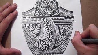 Polynesian Half Sleeve Tattoo Designs
