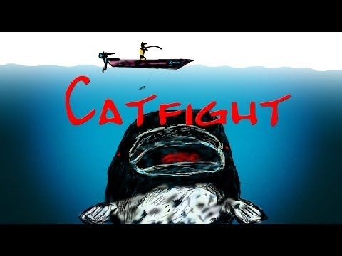 Catfight : big catfishs of the Rhône à Lyon