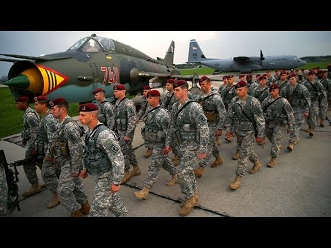 Video: US troops put troops on Polish ground as Ukraine crisis spirals
