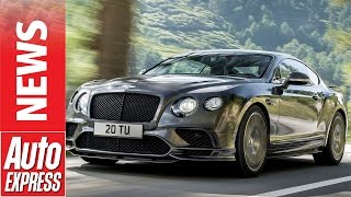 Bentley Continental Supersports: the