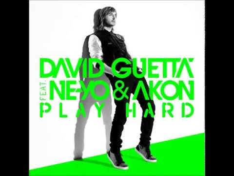 David Guetta - Play Hard ft Akon & Ne-Yo  - [HD] [Speed-UP]
