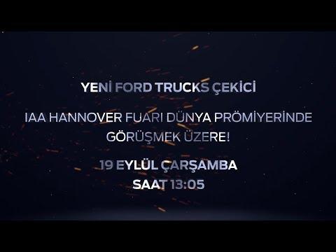 Ford Trucks - IAA Hannover Ticari Araçlar Fuarı - Canlı Yayın