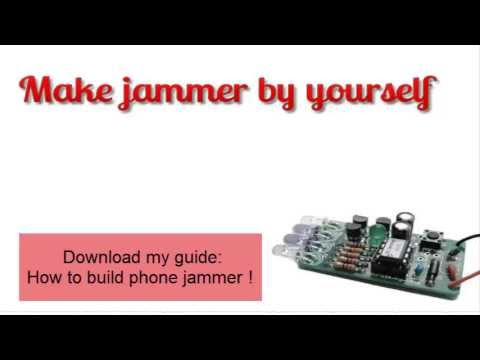 Build cell phone jammer - cs808 cell phone jammer