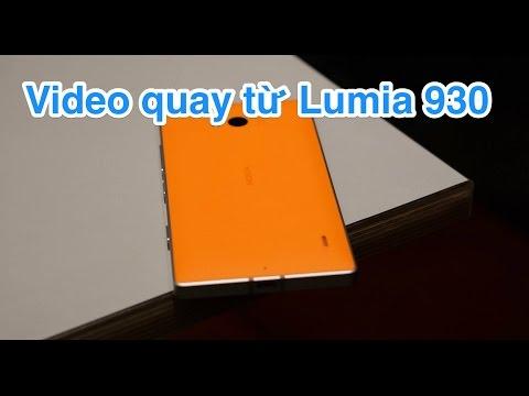 Cafe Sài Gòn qua ống kính Lumia 930 (360P quay và chèn hiệu ứng, nhạc, tiêu đề trên chính Lumia 930)