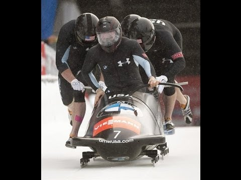 Men's Four-Man Bobsled Selection Race, Park City, October 26