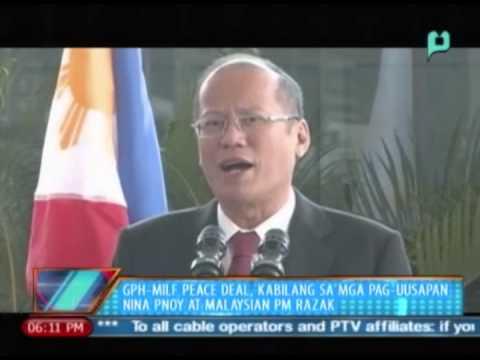 GPH-MILF peace deal, kabilang sa mga pag-uusapan nina PNoy at Malaysian PM Razak