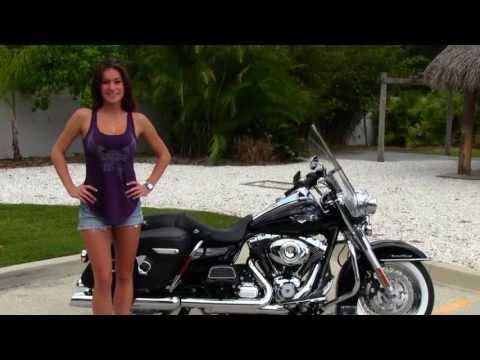 New 2013 Harley-Davidson FLHRC Road King Classic in Vivid Black for Sale