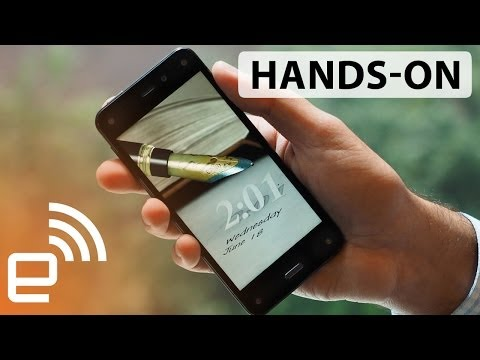 Amazon Fire phone hands-on | Engadget
