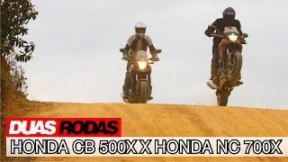 Comparativo: Honda CB 500X X NC 700X