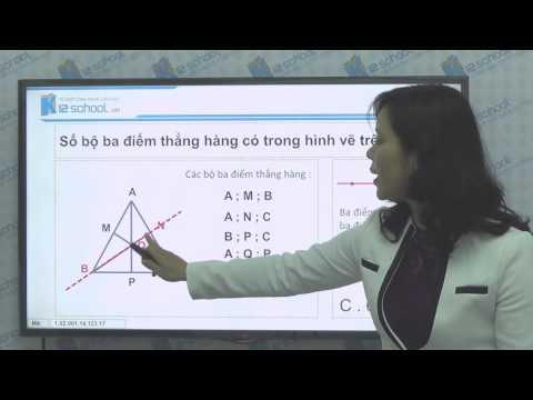 [Toán tiểu học] [Toán 2, Toán lớp 2] - Ôn tập về hình học - [LIKA-K12School]