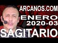 Video Horóscopo Semanal SAGITARIO  del 12 al 18 Enero 2020 (Semana 2020-03) (Lectura del Tarot)