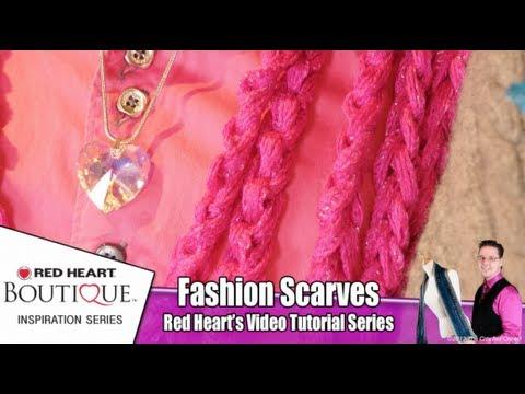 Easy Crochet Sashay Ruffle Scarf - YouTube