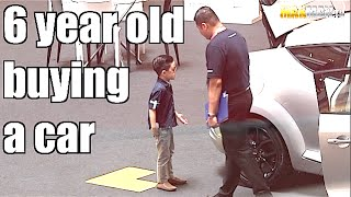 Kids try to buy 300k car, watch the surprised reactions - Maxmantv