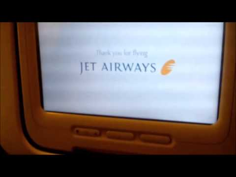 Jet Airways From New Delhi  to Bangkok Airport with Landing Announcement Flight No. 9W064