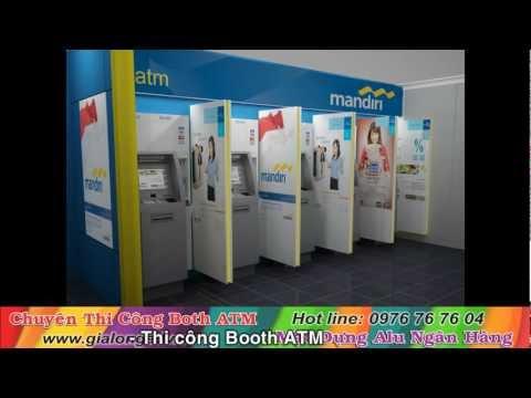 Thi công Booth ATM, Mặt dựng alu ngân hàng