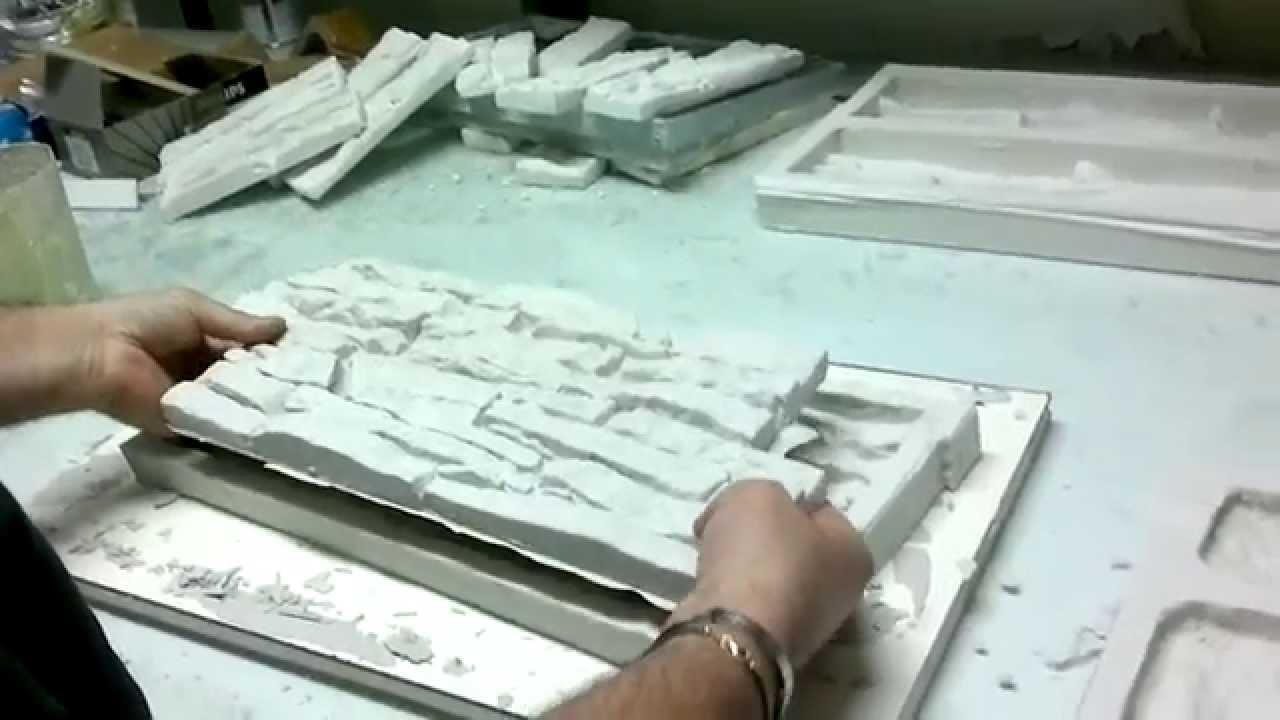 Stampo in gomma siliconica rtv per finta pietra ricostruita - FASE 2 - WWW.PIETRASTAMPATA.COM ...