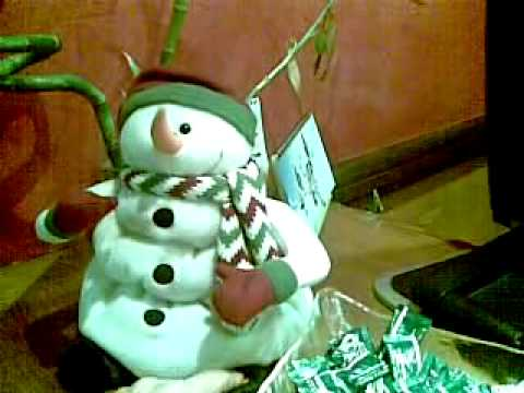Muñeco de Nieve Diabólico