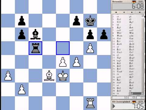 15 Min Chess #111 with Live Comments Grunfeld Defence